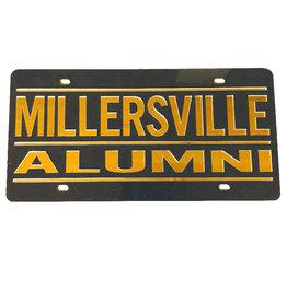 Millersville Alumni Acrylic License Plate