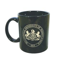 Black Malibu Mug with Seal