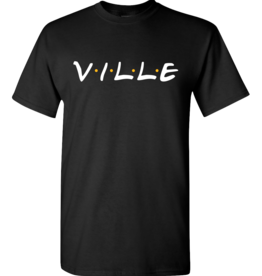 Ville Friends Logo Tee Black