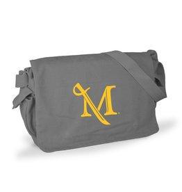 M Sword Messenger Bag - Grey Sale!