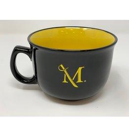 """M"" Soup/Cereal Mug Bowl"