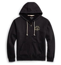 League Essential Full Zip Hood Black