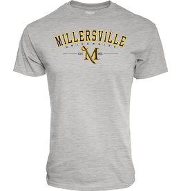 Ringspun Tee with Millersville logo