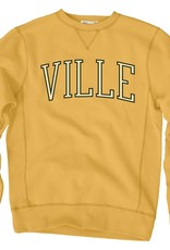 Gold Vintage Crew with Ville