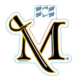 Junior M Sword Sticker