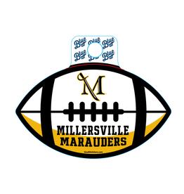 Marauder Football Sticker