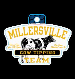 Cow Tipping Team Sticker