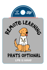 Life is Good Remote Learning Sticker