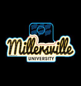 Millersville Script Sticker