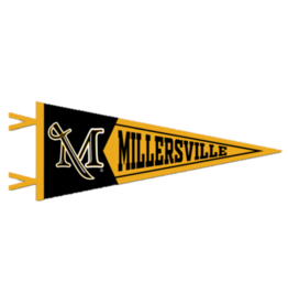 Two Piece M Sword Pennant 7x18