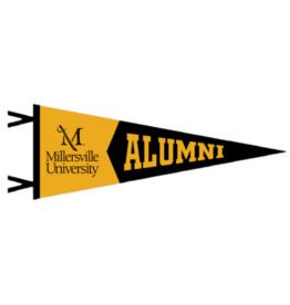Alumni Two Piece Pennant