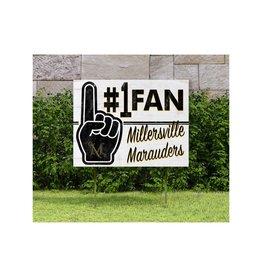 #1 Fan Lawn Sign