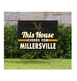 This House Cheers for MU Lawn Sign