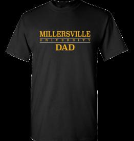 Millersville Dad Tee Black