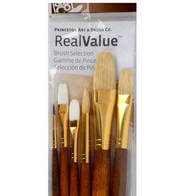 Princeton Real Value Brush Set 9148 Combo Long