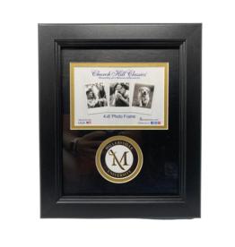 M Sword Circle Photo Frame