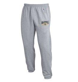 Champion Powerblend Closed Bottom Sweatpants Oxford Grey