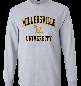 $17.95! Longsleeve Millersville Tee Sport Grey