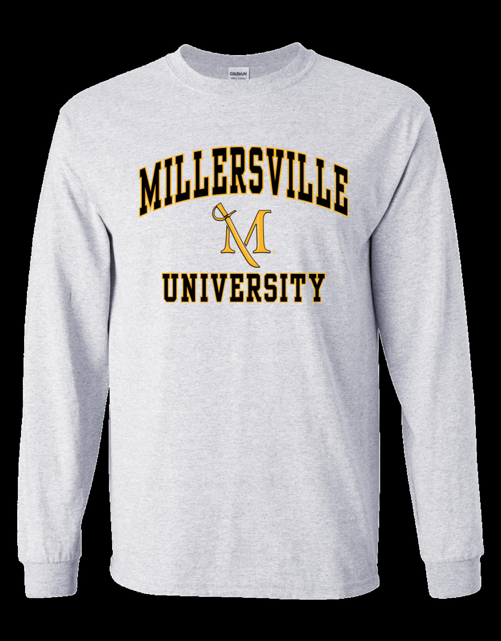 $17.95! Longsleeve Millersville Tee Ash