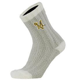 Warm Fuzzy Sock Grey