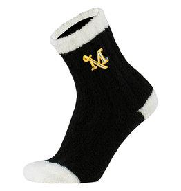 Warm Fuzzy Sock Black