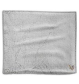 Frosty Grey Sherpa Blanket