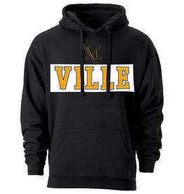 Benchmark Hood with Ville logo