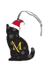 Snowflake Cat Ornament