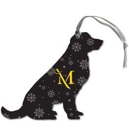 Snowflake Dog Ornament