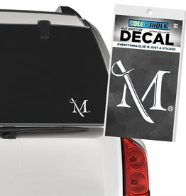 M Sword Decal - Small