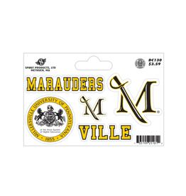 Baseline Millersville Sticker Set