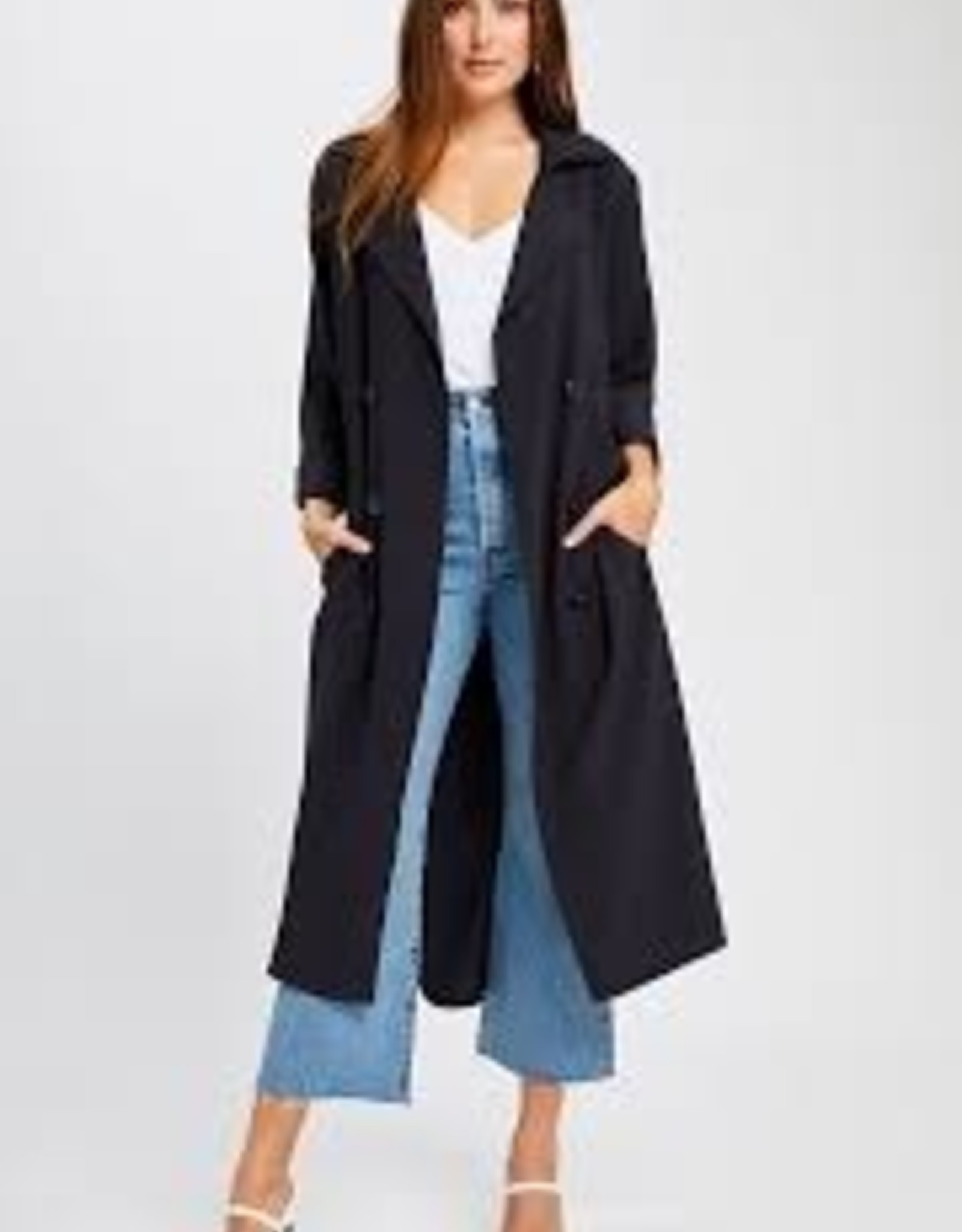 Gentle Fawn Strauss Trench Coat
