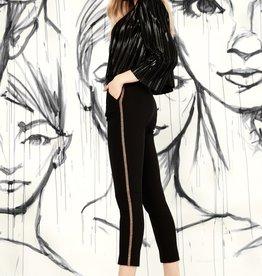 I Love Tyler Madison Gwyneth Lurex Tape Trouser