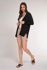 Dex Bros Clothing Co Ltd. Basic open cardigan, black