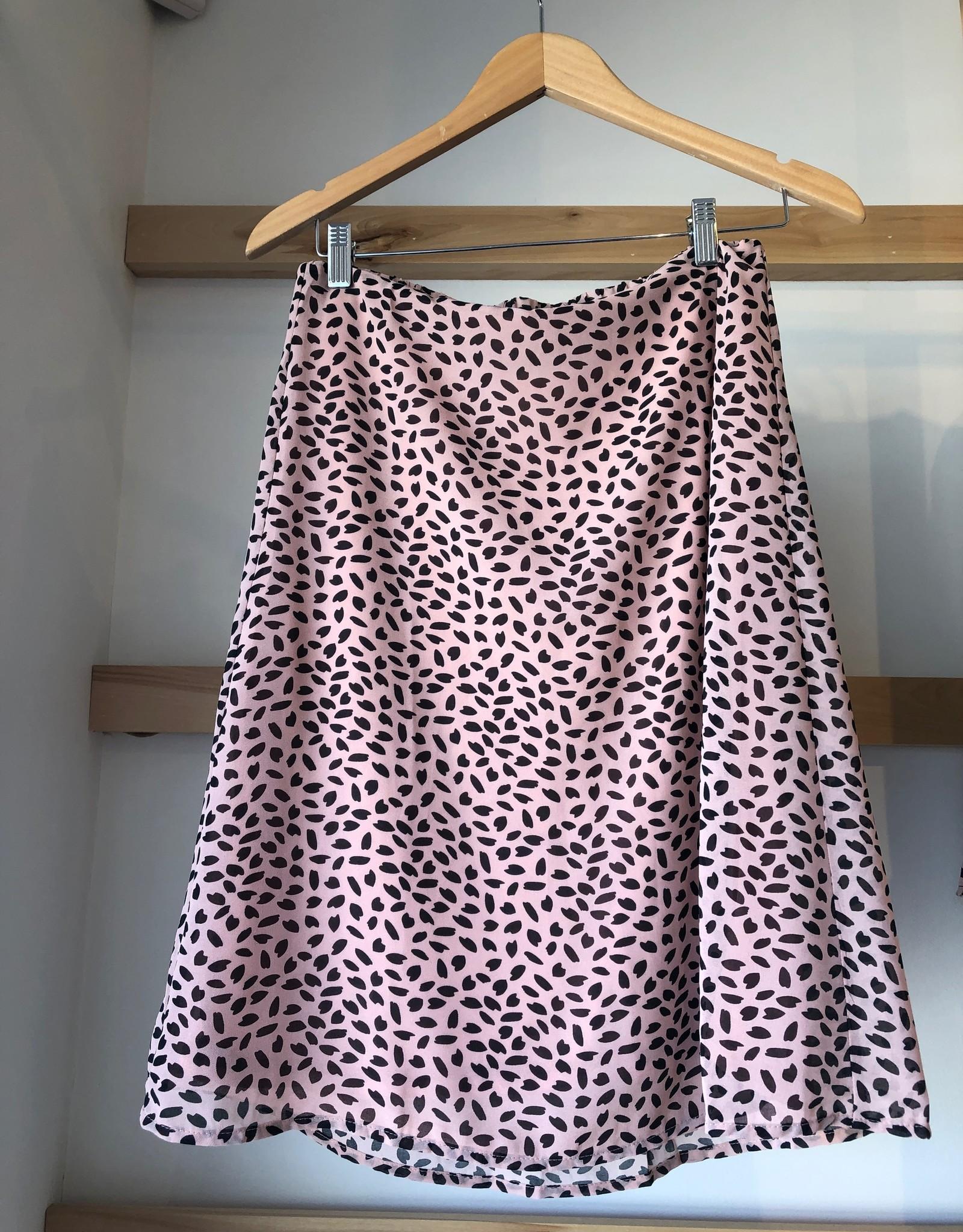 Mikarose Animal Print Skirt