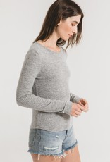 Z Supply Marled Fitted Longsleeve Top