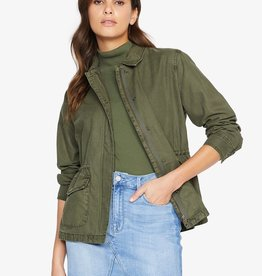 Sanctuary Army green military jacket