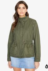 Sanctuary Army green military jacket