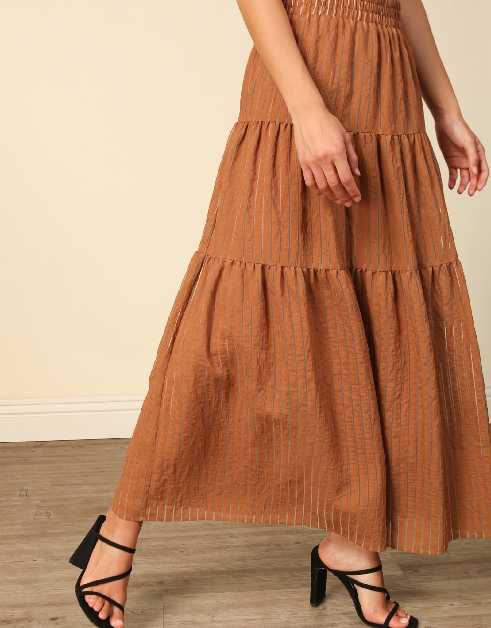 Line and Dot Marcella Maxi Skirt