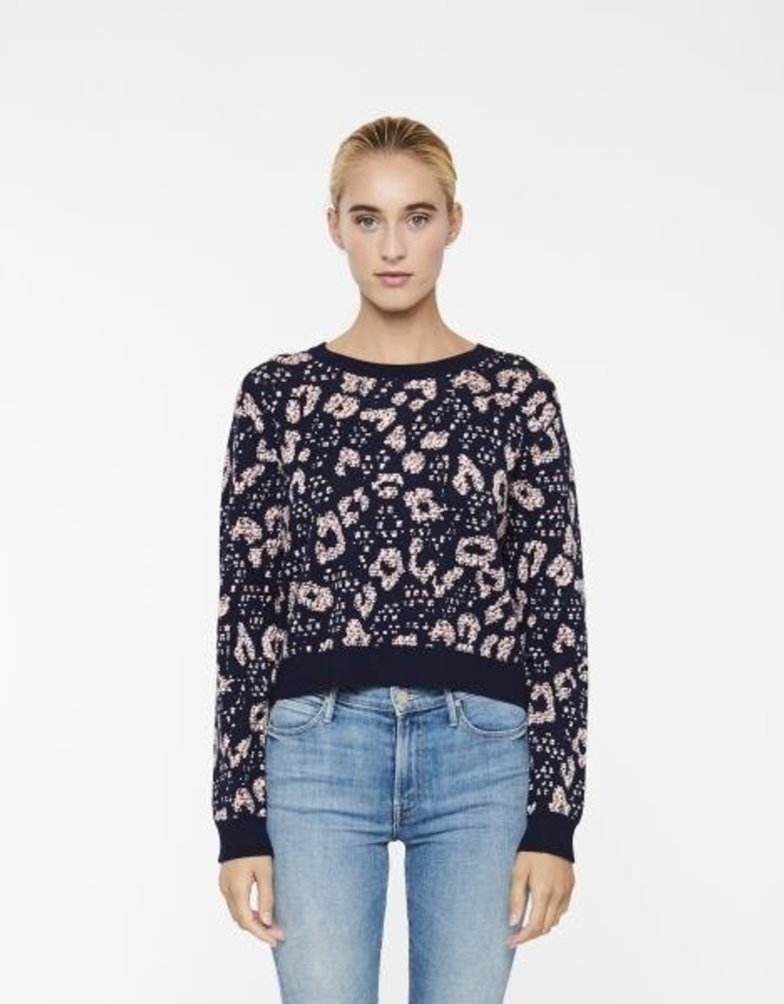 John & Jenn Patina Print Sweater