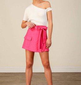 Kinn Wrap Front Shorts