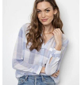Rails Charli Shirt by Rails - Sky Blue Check