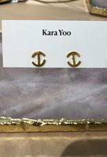 Kara Yoo Chloe Studs