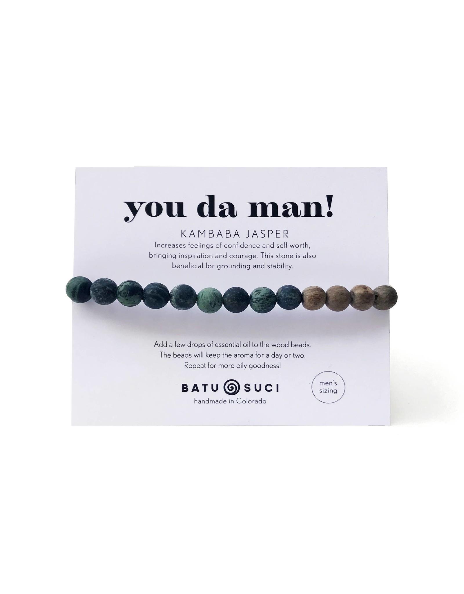Batu Suci You Da Man Diffuser Bracelet