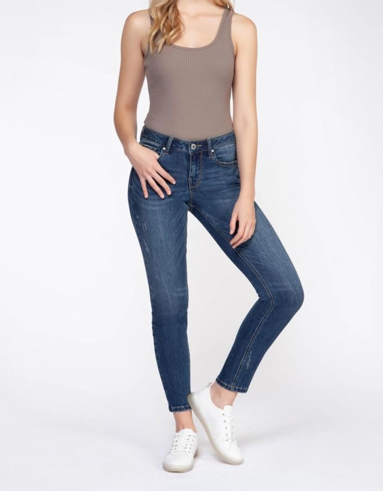 Dex Bros Clothing Co Ltd. Ribbed bodysuit, taupe