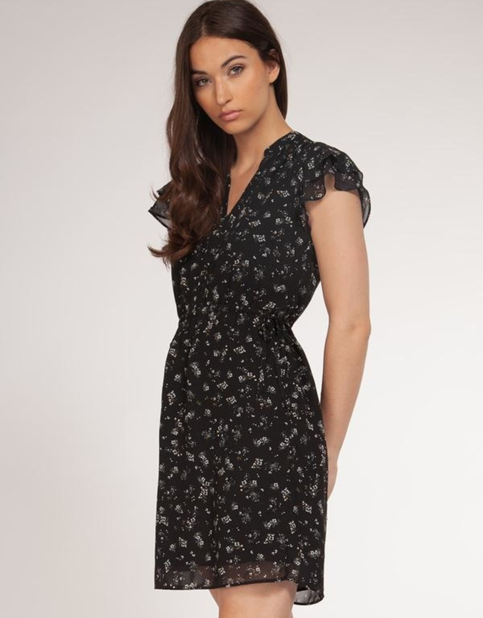 Dex Bros Clothing Co Ltd. Ruffle Sleeve Dress