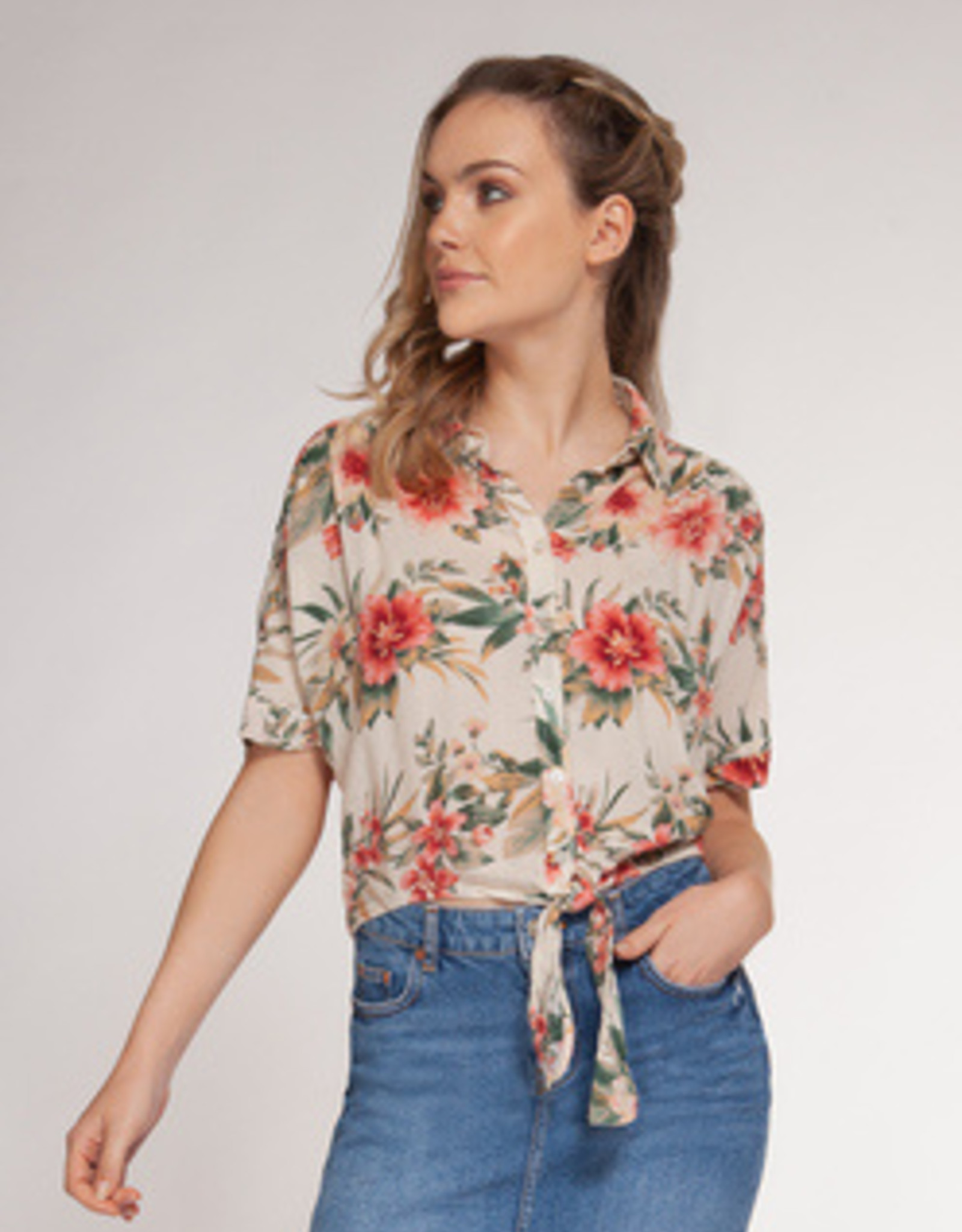Dex Bros Clothing Co Ltd. Shot Sleeve Button Down Shirt