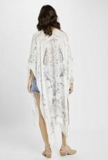 Gentle Fawn Zodiac Kimono
