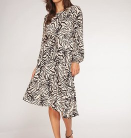 Dex Bros Clothing Co Ltd. Longsleeve Asymetric Dress