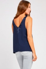 Gentle Fawn Gentle Fawn Beaux Top with Satin Accents